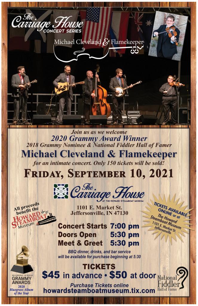michael cleveland concert